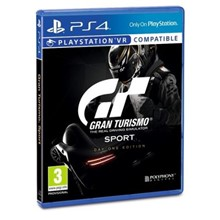 Ps4 Gran Turismo Sport Day One Edition