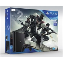 PS4 SLIM 1TB E + Destiny 2