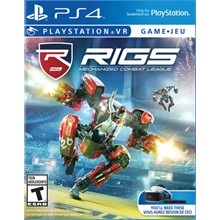 RIGS Mechanized Com League VR (PS4)/EXP