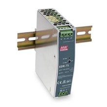 SA-EDR-75-48 AC-DC Endüstriyel DIN rail güç kaynağı; Çıkış 48Vdc @ 1.6A; metal şasi / AC-DC Industrial DIN rail power supply; Output 48Vdc at 1.6A; metal case