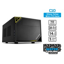 Sharkoon Shark Zone C10 Mini-Itx Usb3.0 Küp Kasa