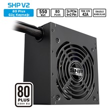 Sharkoon Shp550 V2 550W 80+ Atx Psu