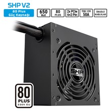 Sharkoon Shp650 V2 650W 80+ Atx Psu