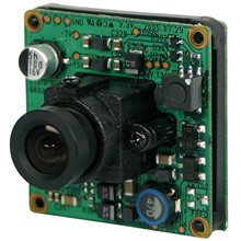 "SLS-ENEO-VKC-1344/3.8 Eneo 1/3"" Board Camera, Colour, 3.8mm, 550TVL, 12VDC"