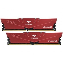 T-Force 16 Gb Ddr4 3000 Mhz Vulcan Z Red 8Gbx2 Team Tlzrd416G3000Hc16Cdc01