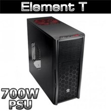 Thermaltake Element T Siyah Midtower 700W Psulu Kasa