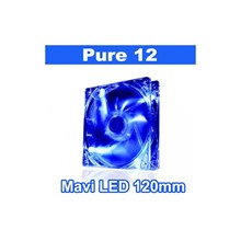 Thermaltake Pure High Performance 120 Mm Mavi Ledli Sessiz Fan