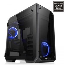Thermaltake View 71 Rgb Full Tempred Glass Camlı, E-Atx Full Tower Siyah Oyuncu Kasası (Psu Yok)