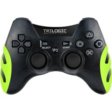Trilogic GW404 Yeşil Legend PC/PS3 Wireless Gamepad