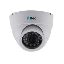 Ttec IDM1010 1MP 3.6MM Cmos 720P 24 IR Led Dome Kamera AHD Plastik Kasa Dome Kamera