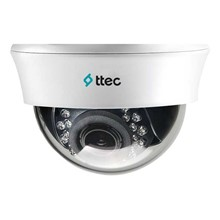 Ttec IDM1010V 1/4 CMOS AHD 720P 1MP 2.8-12MM Varifocal 20MT IR Led 20MT Ahd Plastik Kasa Dome Kamera