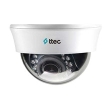 Ttec IDM502-VHDIS 1 MP 2.8MM-12MM Sony Analog 18 IR Led Analog Plastik Kasa Dome Kamera