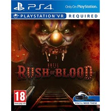 Until Dawn Rush of Blood VR (PS4)/EXP