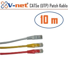 V-Net Cat5E Utp 10M Patch Kablosu