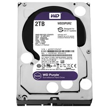 Wd 2 Tb 3.5 Intellıpower Sata 64Mb Purple Wd20Purz 7/24