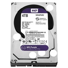Wd 4 Tb 3.5 Intellıpower Sata 64Mb Purple Wd40Purz