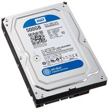 "WD 500GB 3.5"" 7200Rpm 32MB Blue WD5000AZLX"