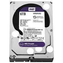 "Wd 6Tb Wd60Purz 3.5"" 64Mb Sata 6Gb/S 7/24 Purple"